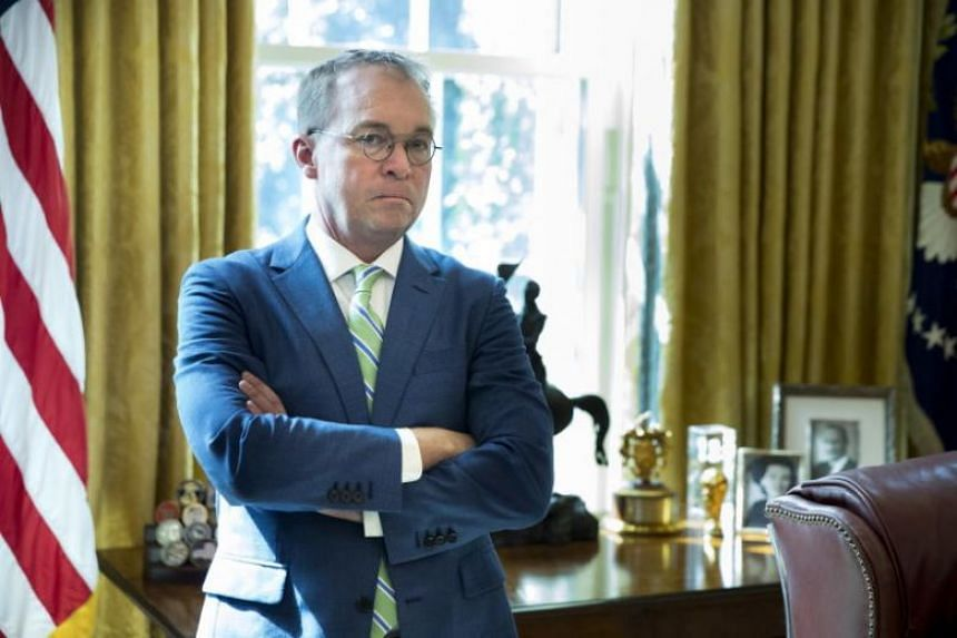 White House Chief of Staff Mick Mulvaney dismissed an effort to obtain US President Donald Trump's tax returns on April 7, 2019.