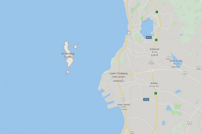 According to the police, the woman's body was found on April 7 on Ko Sichang, in the Gulf of Thailand, around 75 kilometres from the capital Bangkok.