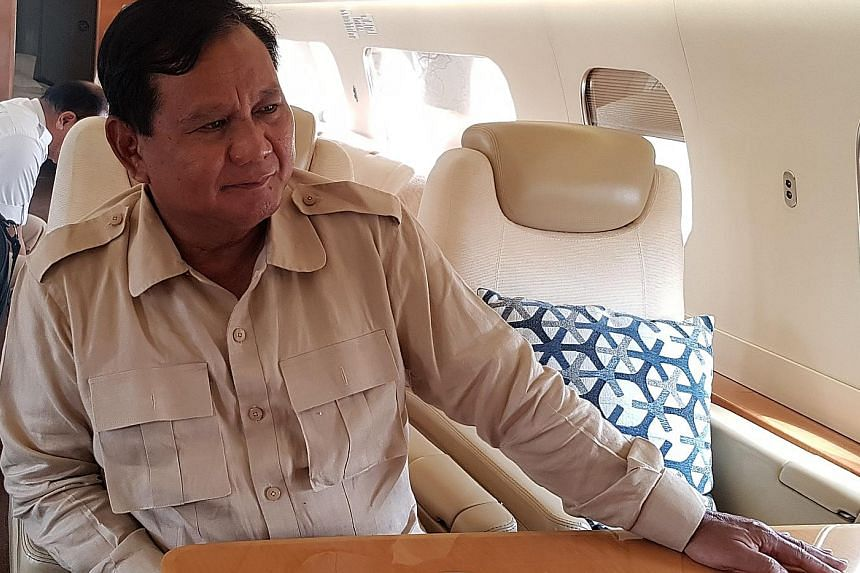 Mr Prabowo Subianto said he accepts that the war on graft cannot be won overnight, but he believes he can do more than incumbent President Joko Widodo in eradicating corruption. Mr Prabowo was speaking to The Straits Times and two Japanese media outl