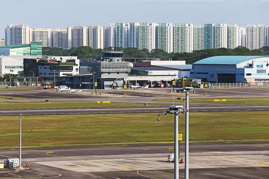 Transport Minister Khaw Boon Wan said both regulators would have to discuss the Global Positioning System (GPS) procedures for Seletar Airport (above).