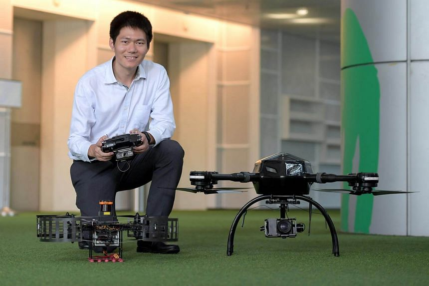 "Wang Fei, CEO of AeroLion Technologies, said: ""By collaborating with Surbana Jurong, we aim to share our UAV expertise in the built environment while learning from one of the best in this industry."""