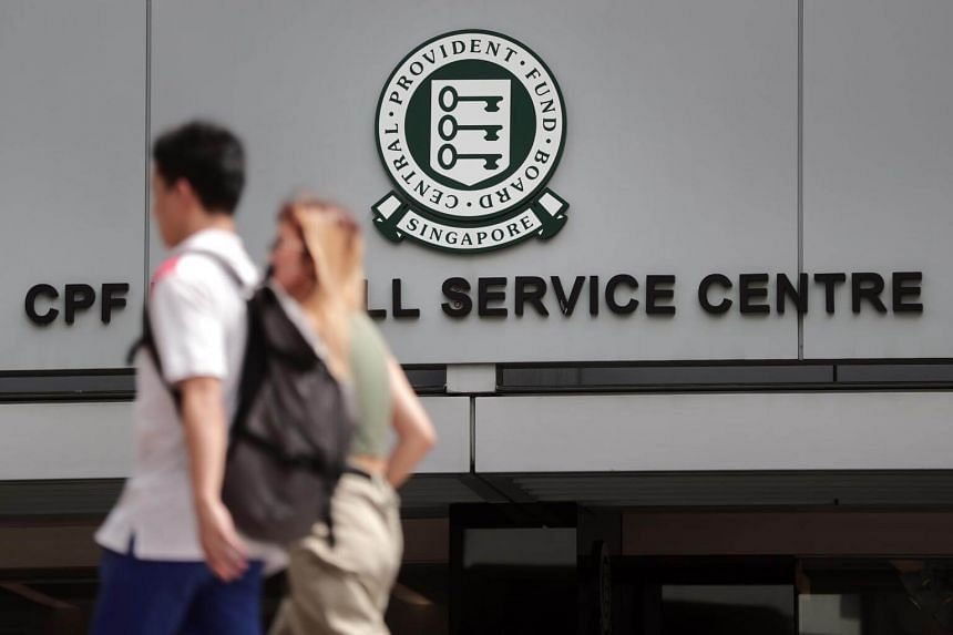 The CPF Board Service Centre in Maxwell Road, on Jan 22, 2019.