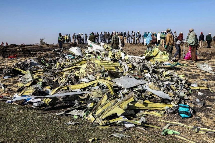 """Boeing, which said it would not comment on the lawsuit directly, extended its """"heartfelt condolences and sympathies to the families and loved ones of those on board Ethiopian Airlines Flight 302""""."""