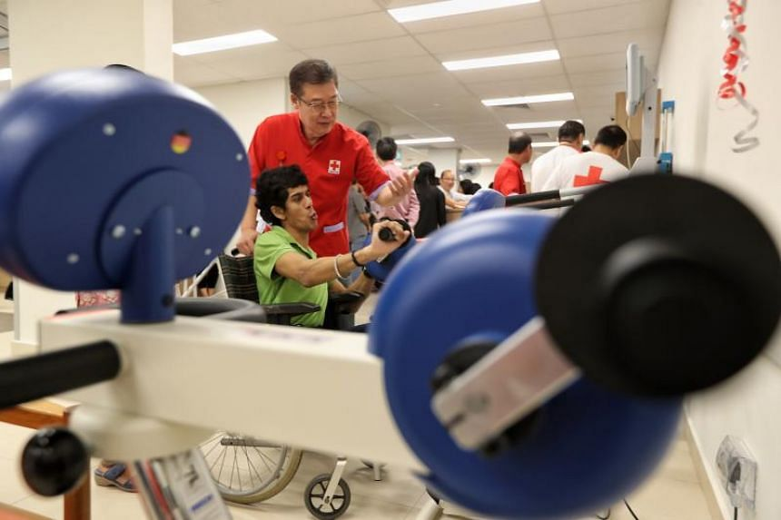 There are currently 30  Day Activity Centres in Singapore providing long-term care for 1,300 adults with disabilities and the one in Jurong West is the first to be set up by the Singapore Red Cross.