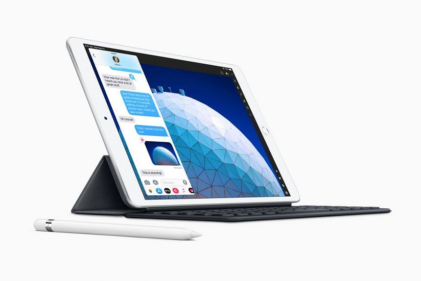 The most prominent change in the new iPad Air is in the larger 10.5-inch display with True Tone technology - it will adjust its colours to be consistent with ambient lighting, unlike the iPad Air 2's 9.7-inch display.