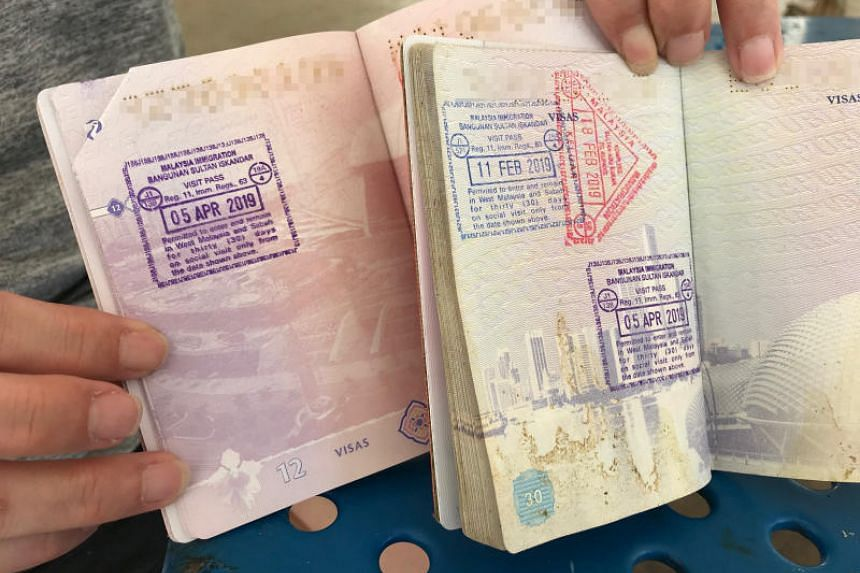 Relief for Singapore couple whose passports weren't stamped