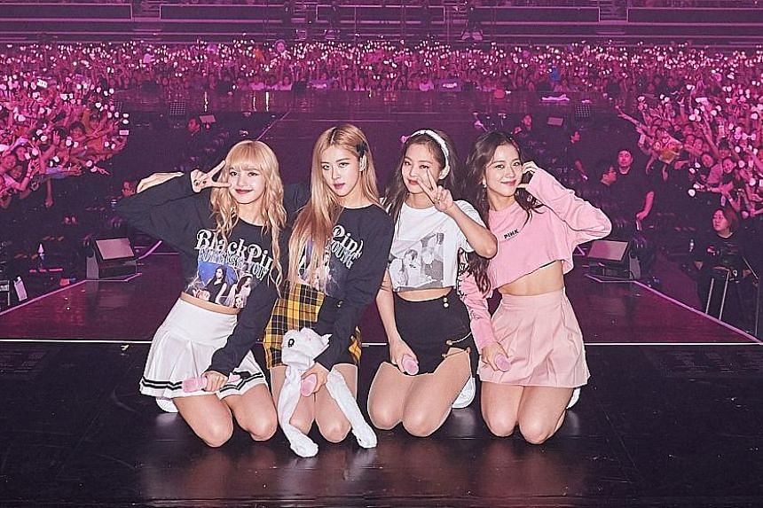 Blackpink comprise (from left) Lisa, Rose, Jennie and Jisoo.