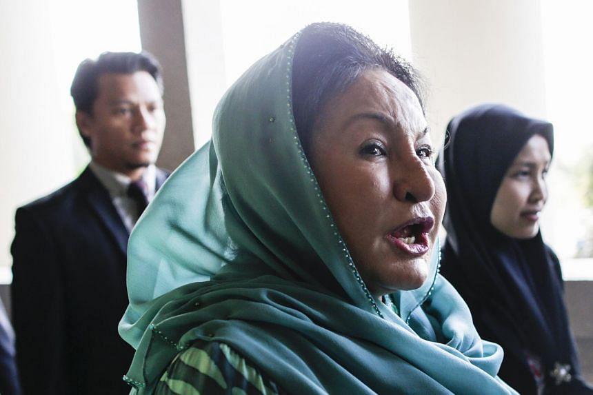 Rosmah Mansor, the wife of former prime minister Najib Razak, pleaded not guilty after the charge was read out to her.