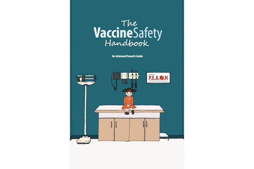 The anti-vaccine handbook created by a group calling itself Parents Educating and Advocating for Children's Health.