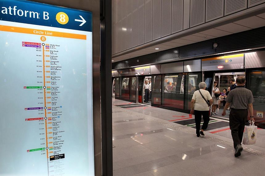"""The Land Transport Authority attributed the escalated cost to various factors, pointing out that work on the first five stages of the Circle Line """"started almost two decades ago, when price levels were lower""""."""