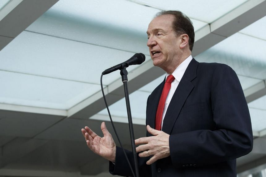 """World Bank President David Malpass said the """"clear mission and focus"""" of the World Bank is """"alleviating and eliminating extreme poverty,"""" as well as boosting """"shared prosperity."""