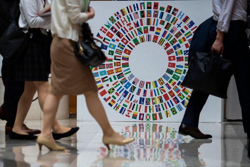 The comments provided an eerie warning to the global officials gathering in Washington this week for the spring meetings of the IMF and World Bank.