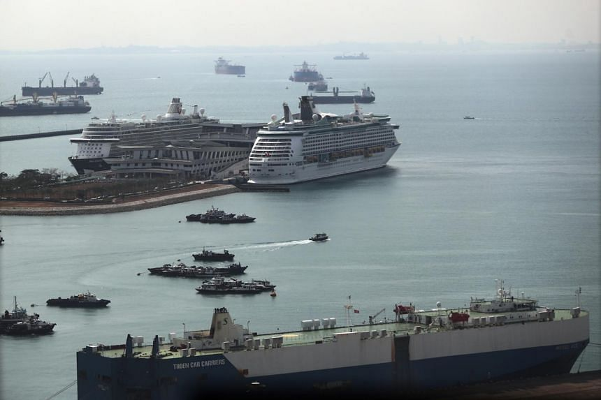Singapore's port is one of the world's busiest, with container throughput hitting 36.6 million 20-foot equivalent units and vessel arrival tonnage hitting 2.79 billion gross tonnes last year.