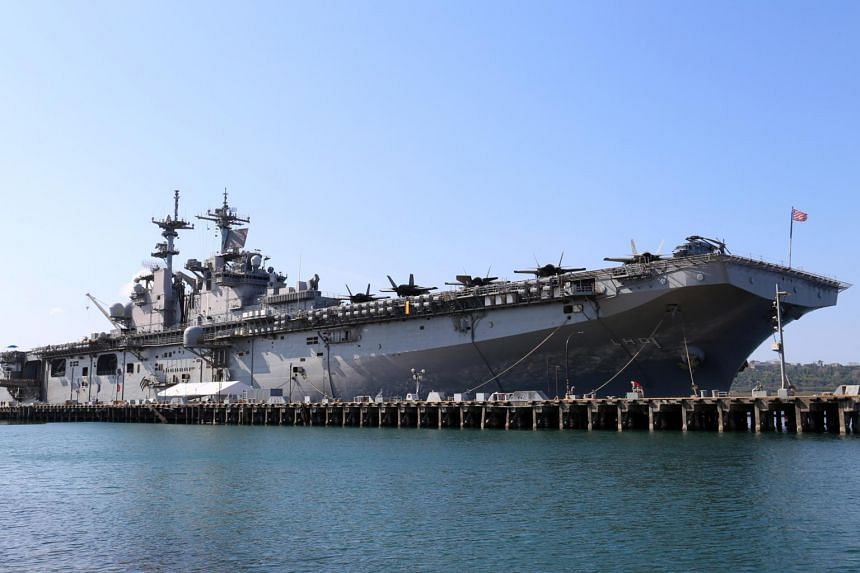 The USS Wasp - an amphibious assault ship outfitted last year with F-35B jets - joined the annual Exercise Balikatan with the Philippines in April.