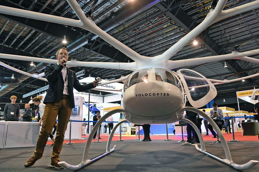 "Volocopter's chief executive Florian Reuter said that should any of its critical components fail, the machines would still be able to ""complete their mission"" and arrive at their destination."
