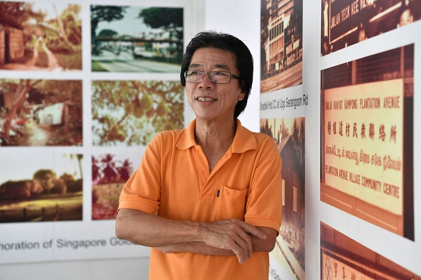 Mr Chiang (with a clipboard) led the Braddell Heights Civil Defence volunteers who responded to the Hotel New World collapse in 1986. Mr Bernard Chiang is a vice-chairman of the Braddell Heights Zone B Residents' Committee. His father was a leader in