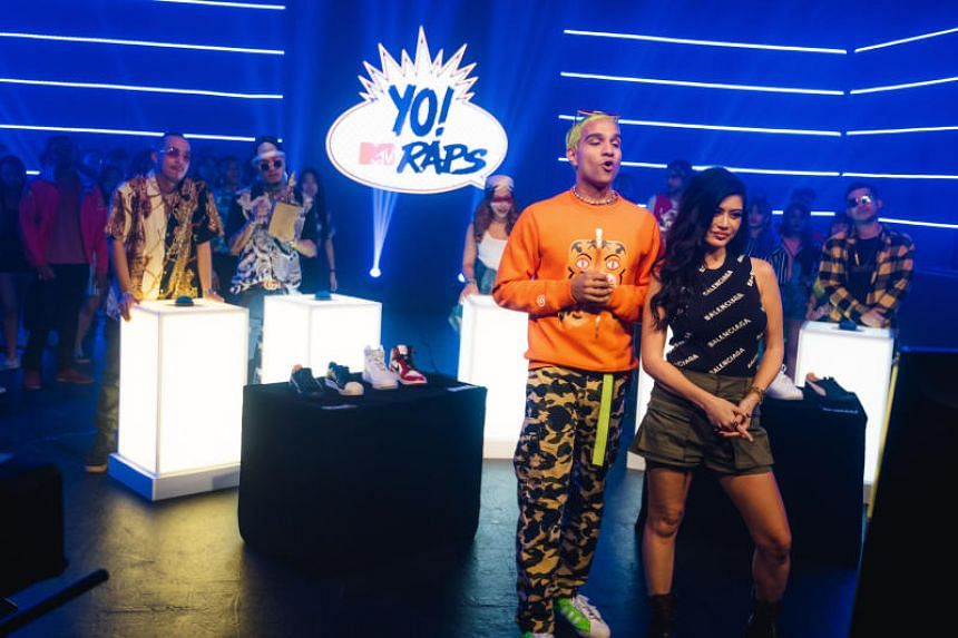Local rapper Yung Raja and DJ Kim Lee host the new Asian edition of hip-hop series YO! MTV Raps.