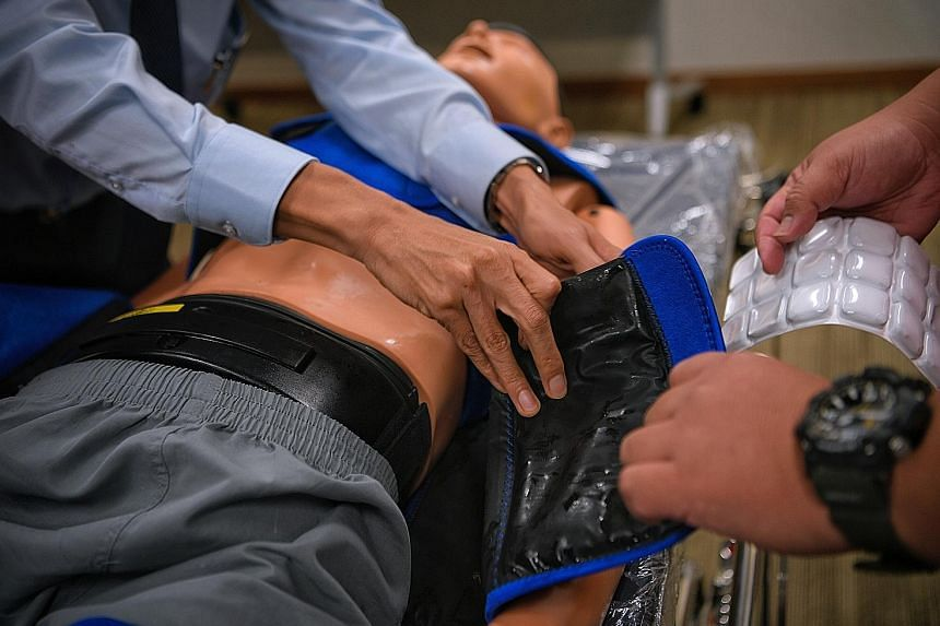 A study by researchers from Singapore General Hospital, National University of Singapore and National Heart Centre Singapore found that the CarbonCool suit can cool a patient's body to 34 deg C in an average of 73 minutes, almost half the time of oth