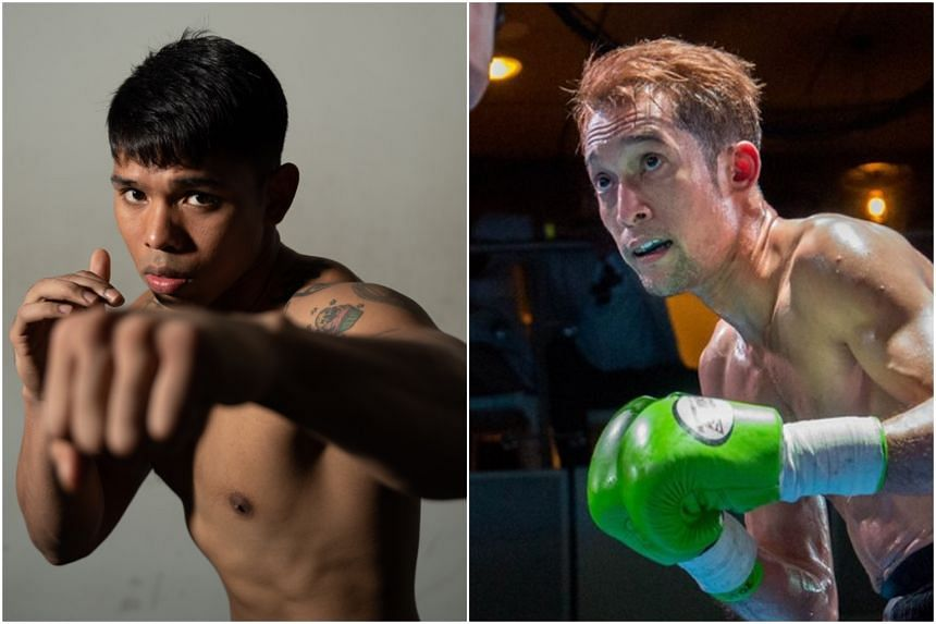 Singapore's Alexandrew David (left) and Hamzah Farouk, who will be competing at The Ring Fighting Championship VI on Friday (April 12).