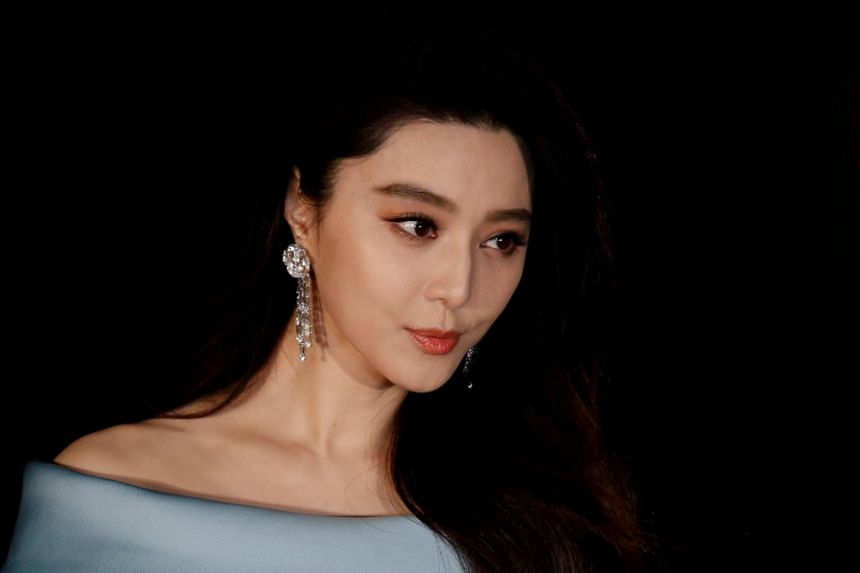 Actress Fan Bingbing was fined 883 million yuan in 2018 over tax evasion.