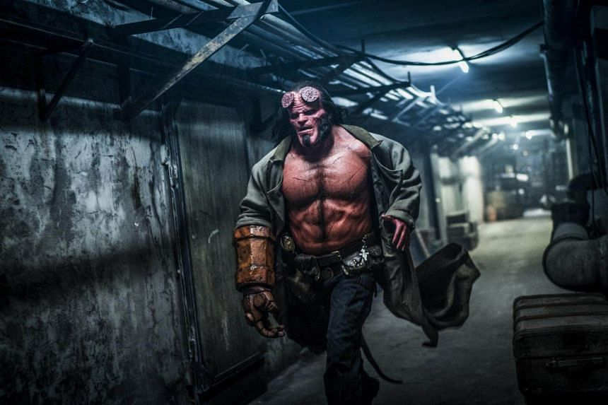 Hellboy will be released in Singapore uncut with an M18 rating and in a PG13 version suitable for younger viewers.