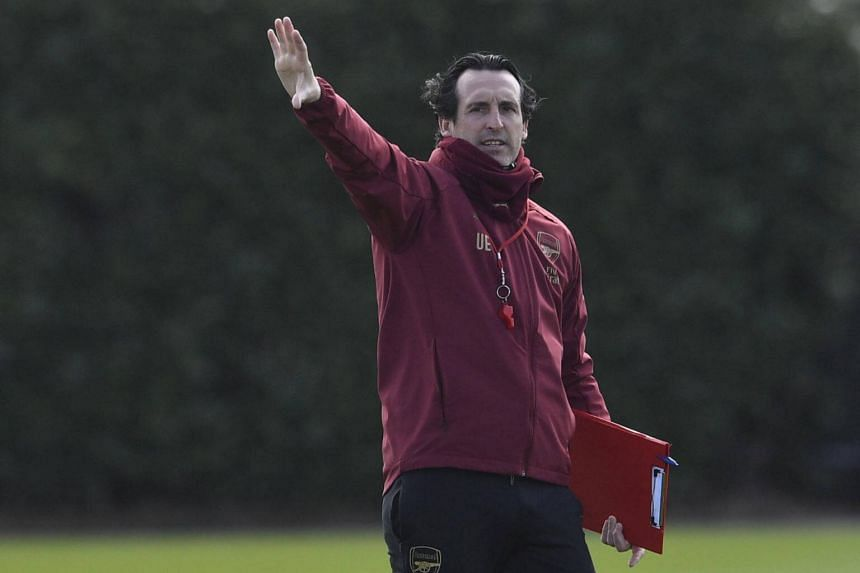 """It's going to be difficult, but we have confidence. We need to be very consistent in two matches,"" Arsenal manager Unai Emery said."