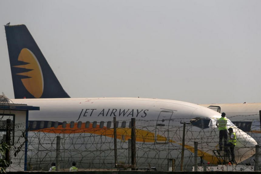 Troubled Indian carrier Jet Airways suspends all flights to and from Singapore