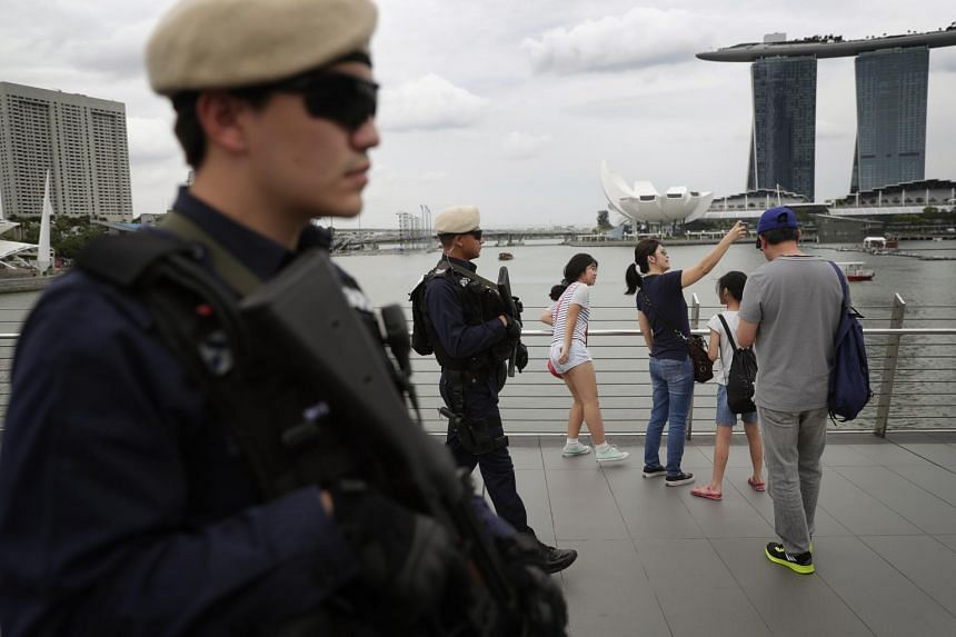 More In-Situ Reaction Teams will be patrolling popular areas such as Orchard Road and Marina Bay to heighten security during festive periods.