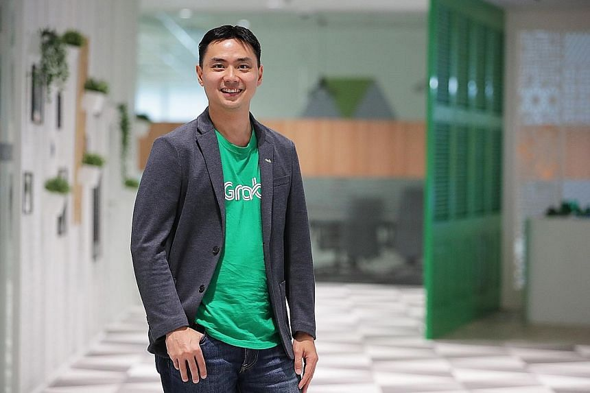 """Competitors make us and drive our innovation,"" says Grab's new Singapore head Yee Wee Tang."