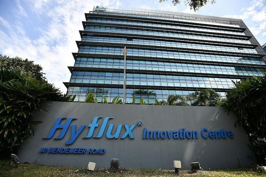 Ascendas Reit is the landlord of the Hyflux Innovation Centre in Bendemeer Road and the Hyflux Building in Kallang Bahru.