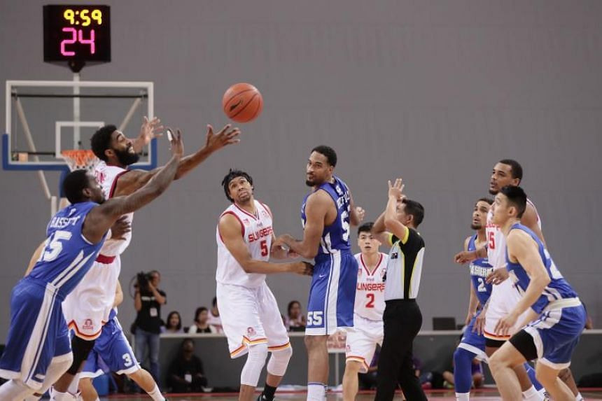 The Singapore Slingers outclassed Hong Kong Eastern in Game 1 of the Asean Basketball League play-offs semi-finals on April 12, 2019.