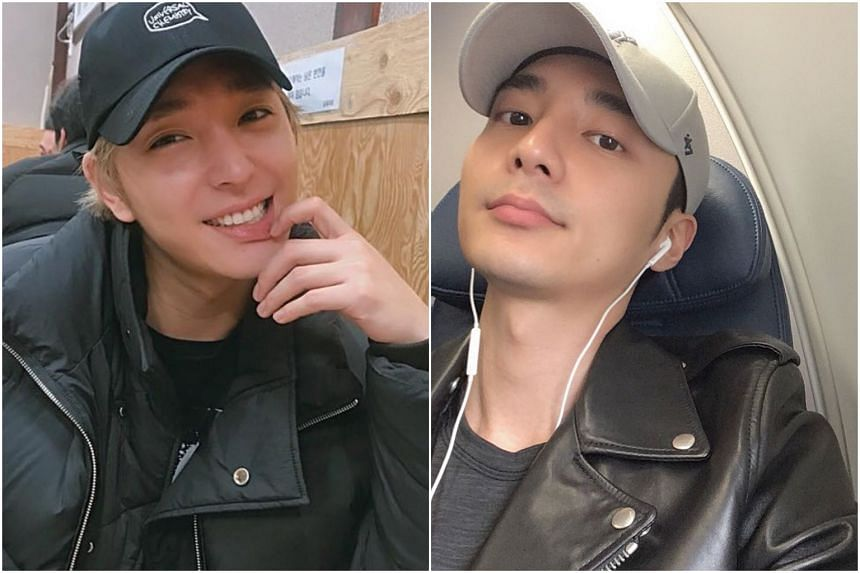 Former FTIsland member Choi Jong-hoon (left) and ballad singer Roy Kim could be arrested next, with the Seoul Metropolitan Police having handed over their cases over to prosecutors.