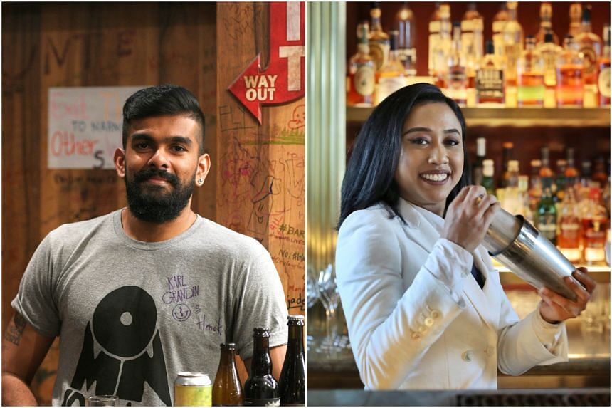 Millennial drinkers like Dinesh Suhoomaran (left) and Lidiyanah Kamaruddin do not just drink to get drunk, but take it up a notch when it comes to alcohol appreciation.