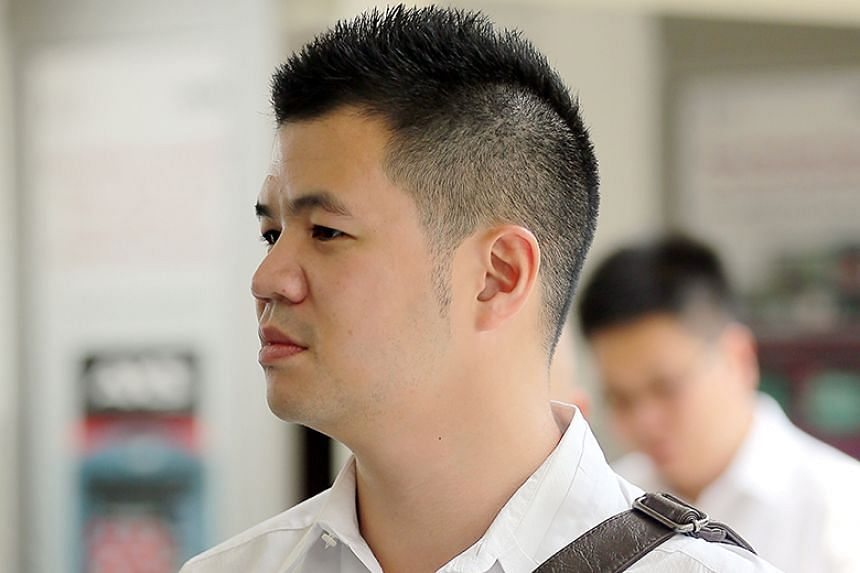 Eric Cheung Hoyu pleaded guilty to one count each of committing mischief and an offence under the Road Traffic Act.