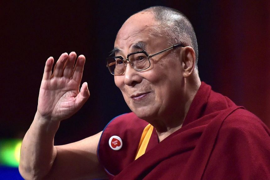 """The Dalai Lama was admitted to a New Delhi hospital three days ago with what an aide called a """"light cough""""."""