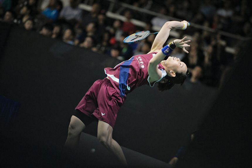 Taiwanese world No. 1 Tai Tzu-ying, despite feeling unwell earlier this week, proved too strong for China's Chen Xiaoxin during their Singapore Badminton Open second-round match yesterday. Tai won 21-15, 21-18 and will meet South Korean Sung Ji-hyun