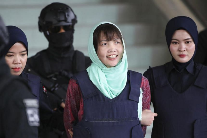 Following diplomatic pressure from the Vietnamese government, Malaysian prosecutors dropped the murder charge against Doan Thi Huong, on April 1, 2019.