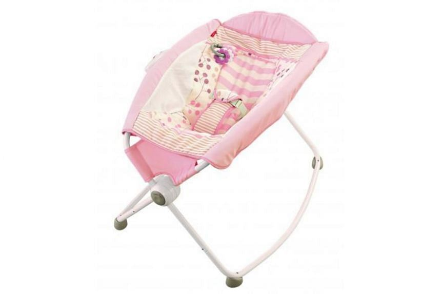 The Consumer Product Safety Commission said consumers should stop using the Rock 'n Play sleeper immediately and contact Fisher-Price for a refund or a voucher.