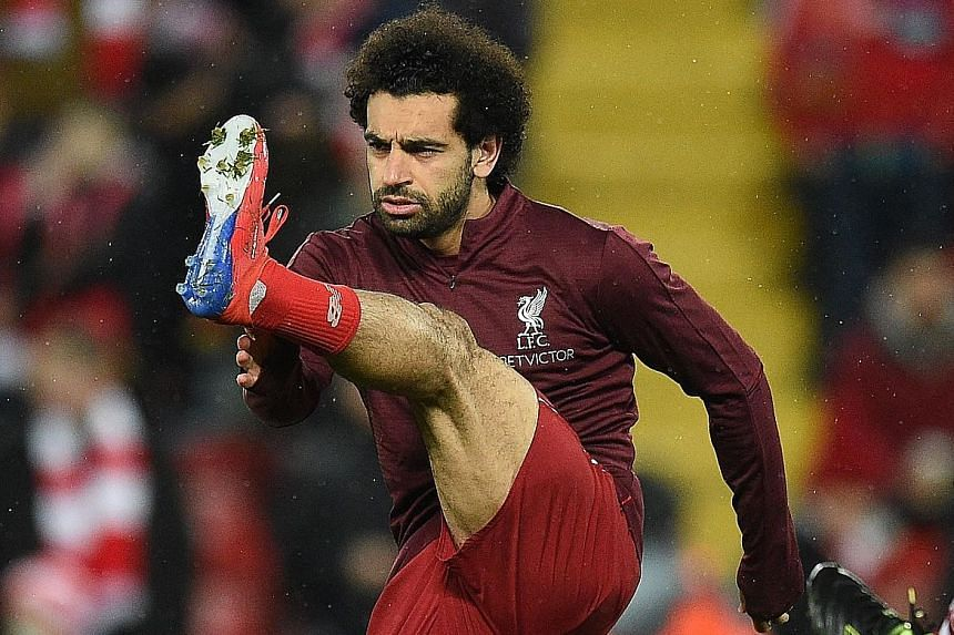 Mohamed Salah, who played for Chelsea in that fateful 2014 league win over Liverpool, will hope to turn the Reds' fortunes around.