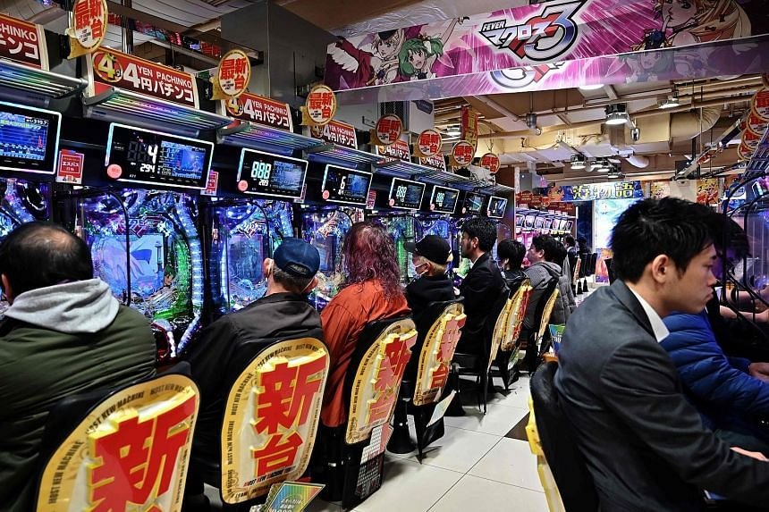 Students practising at the Japan Casino School (above) in Tokyo. Japan, which has allowed three integrated resorts (IRs) to be built, hopes to mitigate the risks of problem gambling while reaping the benefits of tourism spending and job creation. But