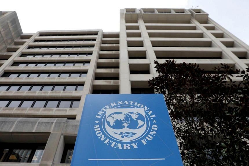 The International Monetary Fund had downgraded its outlook for this year's global growth to the lowest level since the financial crisis a decade ago.