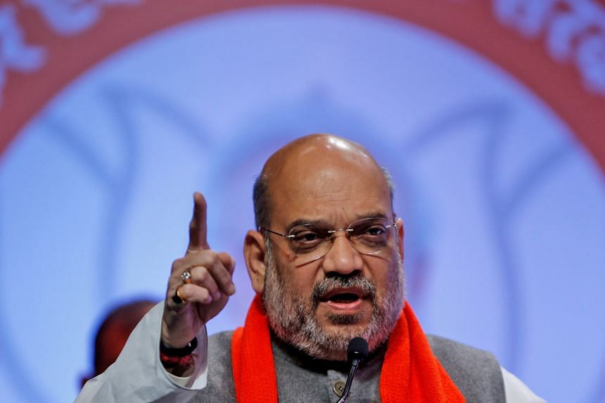 The comments from Mr Amit Shah, the right-hand man of Mr Narendra Modi, have drawn criticism from the main opposition Congress party, which said the remarks were a deliberate attempt to polarise voters along sectarian lines.