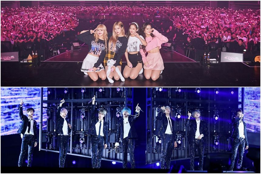 Who's the best? Fans of BTS and Blackpink celebrate major