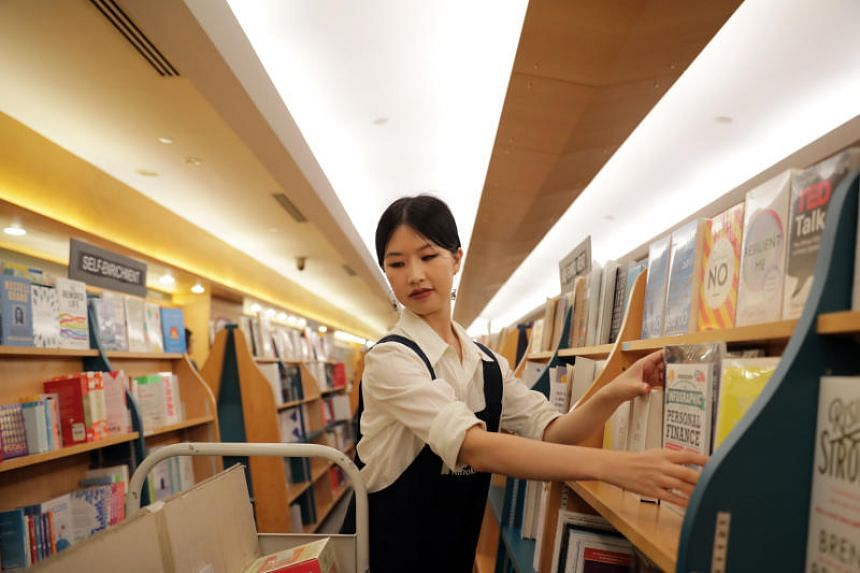 "The Straits Times' Olivia Ho spent half a day working as a ""bookstore elf"" at the Books Kinokuniya branch at Liang Court mall."