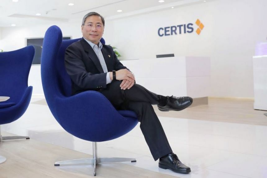 Certis' group technology and operations chief Chua Chwee Koh says there is much higher security surveillance because everything is recorded and measured. For example, a mobile app called Argus helps officers track their tasks, communicate with supervisors