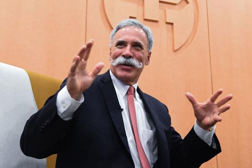 "F1 chief executive officer Chase Carey compared plans for the Hanoi track to Britain's Silverstone and Spa-Francorchamps in Belgium, which he called ""historic"" sites."