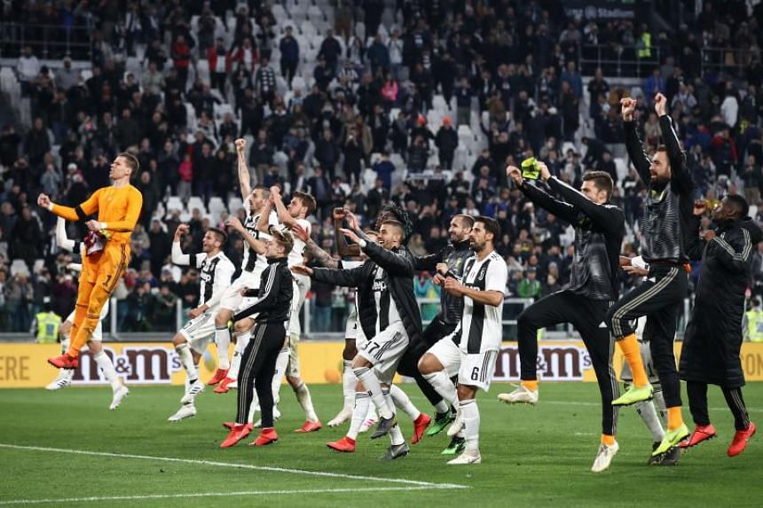 Juventus have put their bid to wrap up an eighth consecutive Serie A title on the back burner as they focus on their European ambitions.