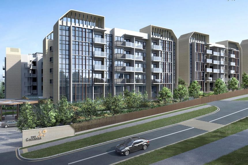 The Gazania in How Sun Drive will have 250 units across seven five-storey blocks.