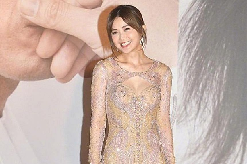 STARS OF THE HONG KONG FILM AWARDS: Hong Kong actress Charlene Choi (top right) may have lost out to Chinese actress Chloe Maayan for the Best Actress award at the Hong Kong Film Awards (HKFA) on Sunday, but she felt that being nominated again was al