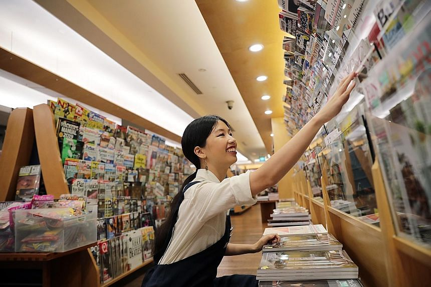 "Straits Times journalist Olivia Ho spends half a day at Books Kinokuniya Liang Court working as a ""bookstore elf""."